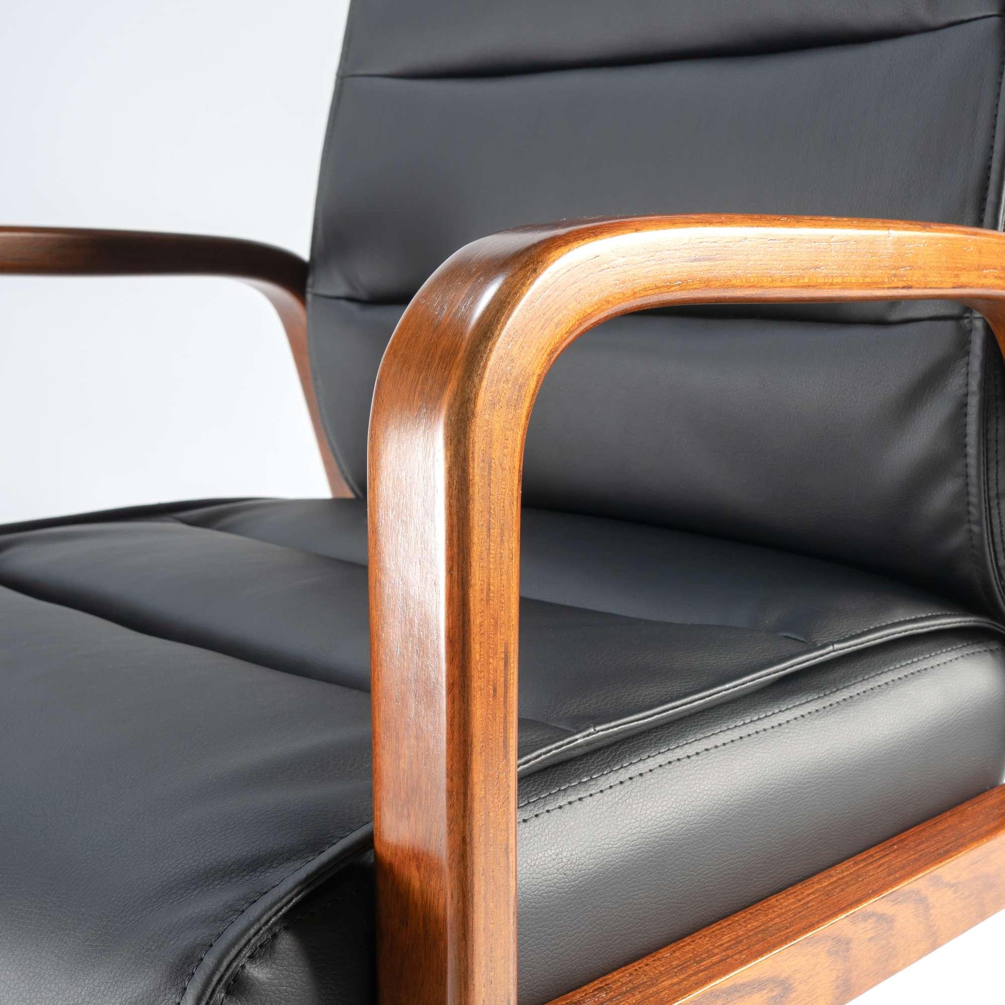 Bras de chaise en gros plan