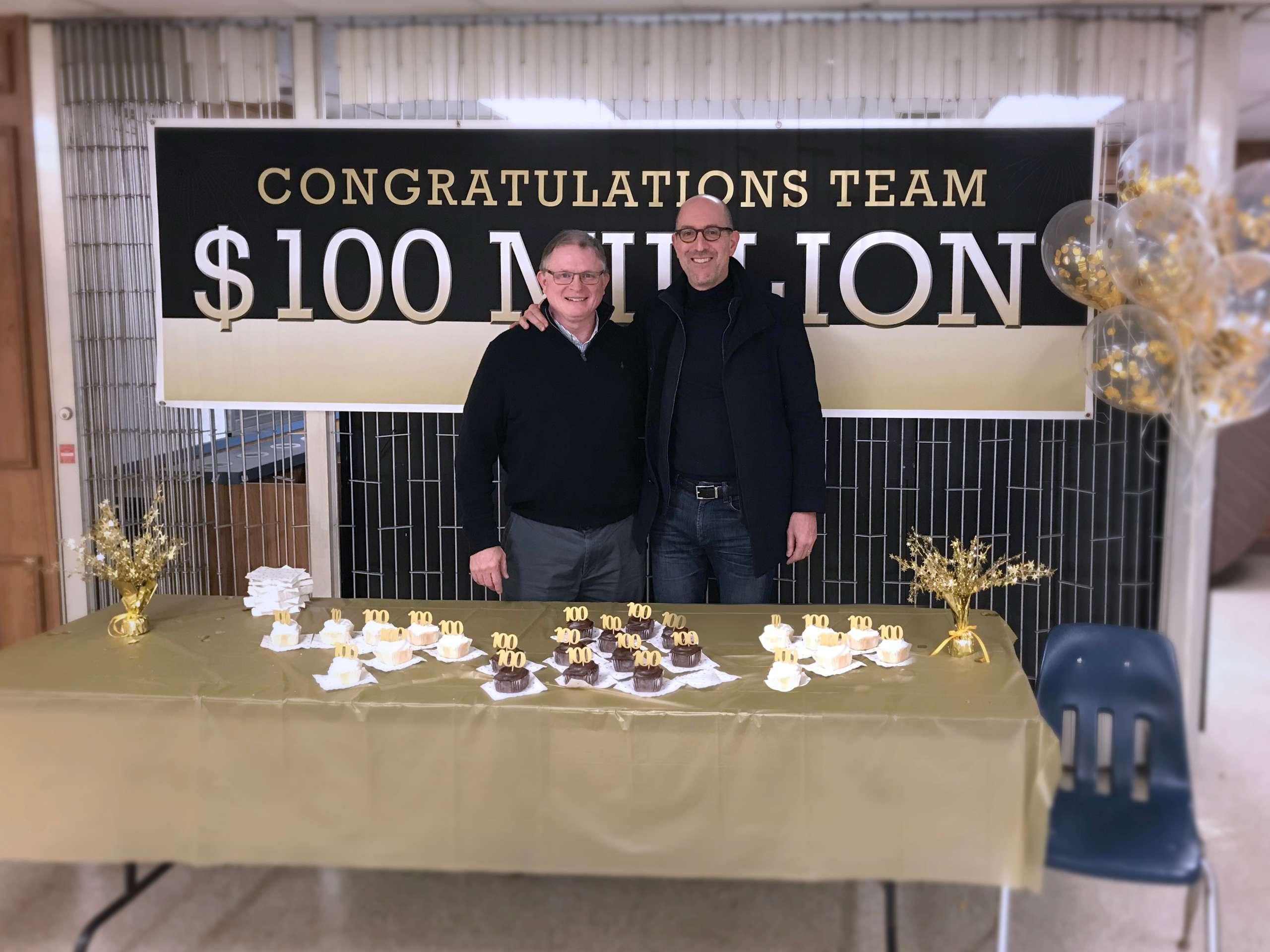 Bush Industries celebrates 100 million dollars