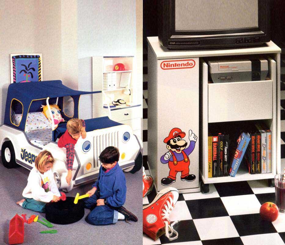 Nintendo car bed
